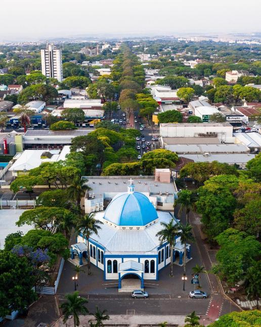 Paróquia Divino Espirito Santo - Avenida Pedro Taques. 08/10/2020